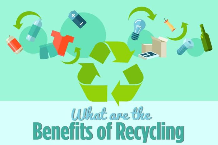 what are recycling benefits free